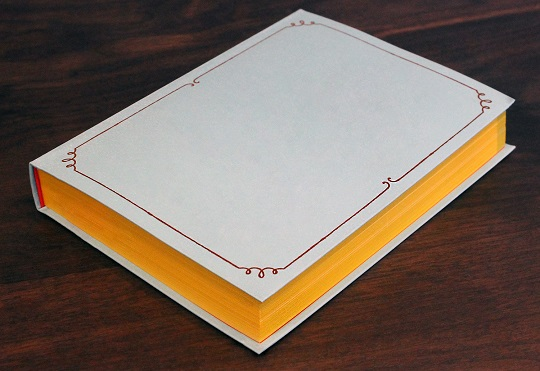 Book Staining - Anstey Book Binding Canada