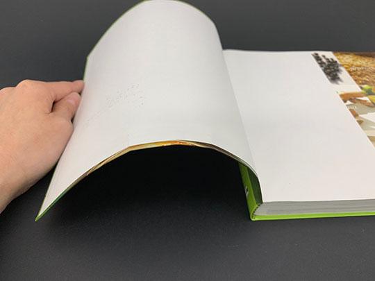 Soft cover case bound book