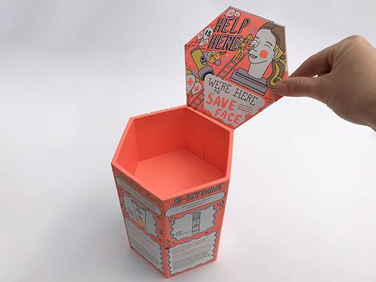 Hexagon Box - Anstey Book Binding Canada