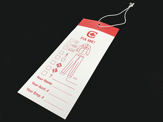 Tag Stringing