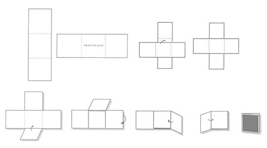 Modified Cross Folder
