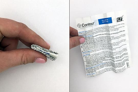 Miniature Folding - Pharmaceutical Folding